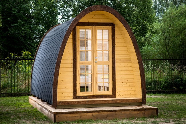 how to build a glamping pod
